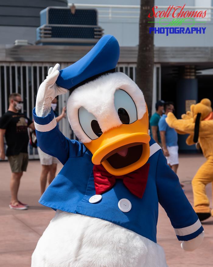 Character Cavalcade Donald Duck