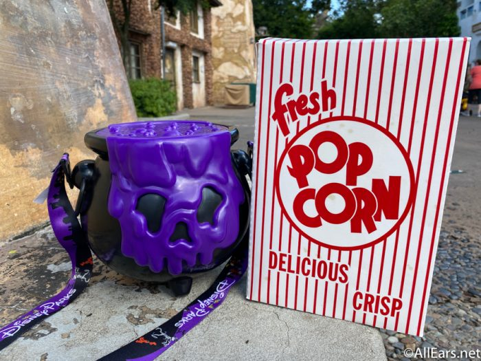 Disneyland Popcorn Buckets Halloween 2020 PHOTOS: We Just Got Our Hands on Disney World's First Halloween