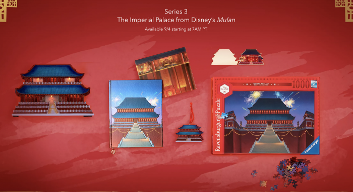 Disney S Newest Castle Collection Inspired By Mulan Is Launching This Week Allears Net