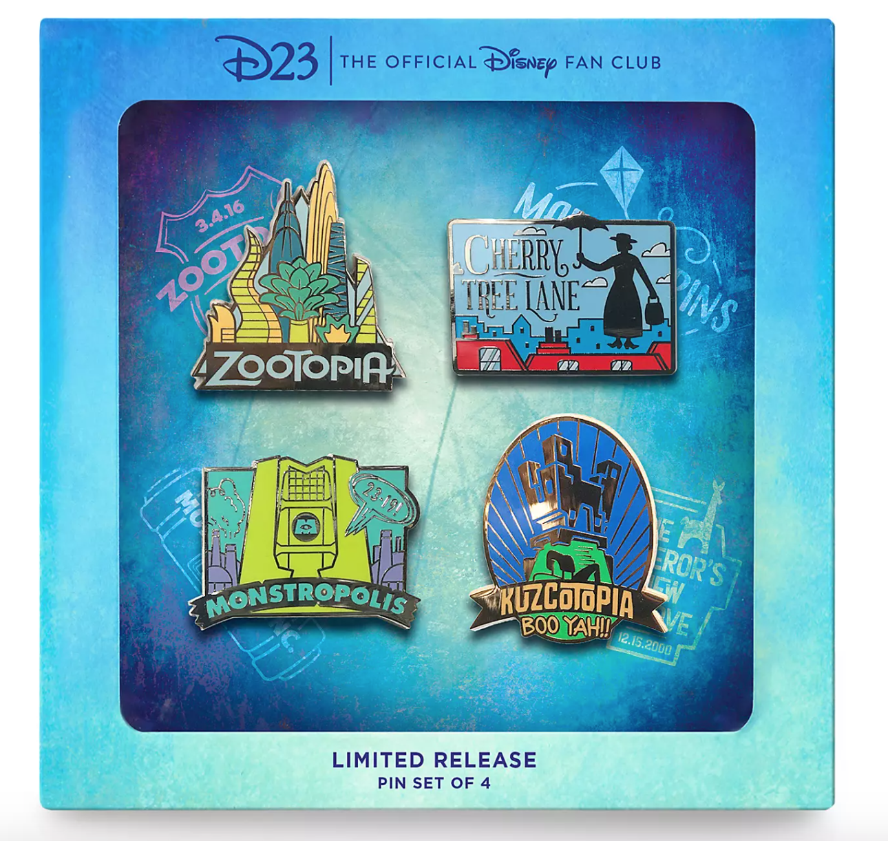 Pssst You Can Score The New Disney Fantastic Worlds Pin Set For Free With This D23 Membership Offer Allears Net
