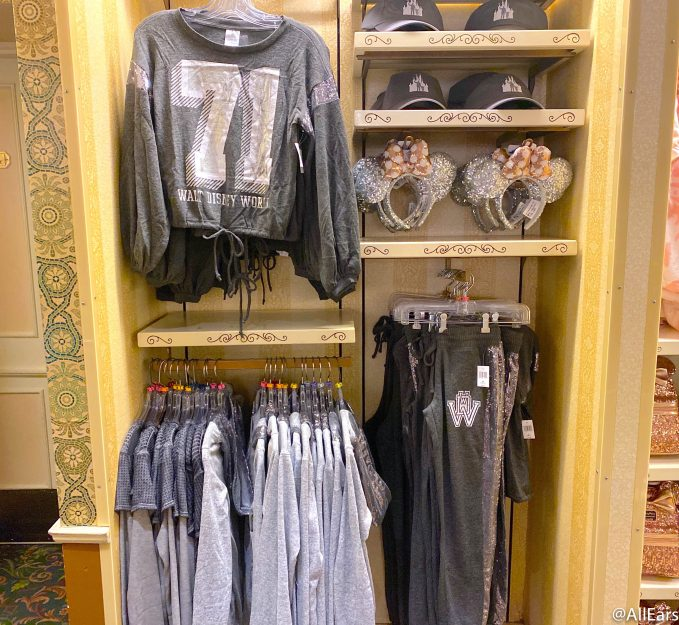 2020 reopening wdw magic kingdom the emporium silver sequins collection 2