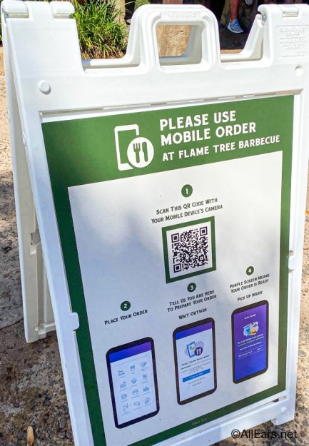 Flame Tree Mobile Ordering