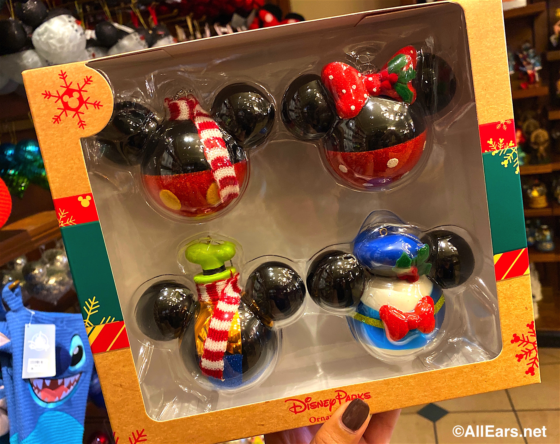 Gear Up for the Holidays With These Christmas Ornaments in Disney World - AllEars.Net