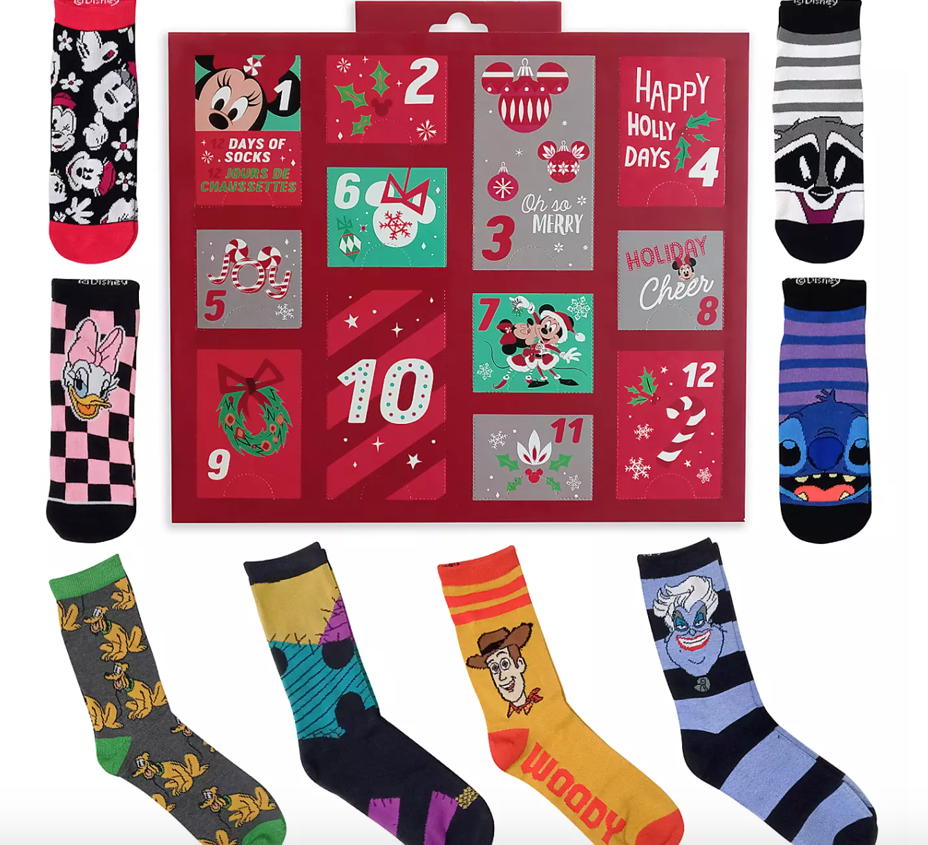 We Can't Believe How Much Christmas Merchandise Disney Just