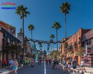 Strolling on Hollywood Blvd