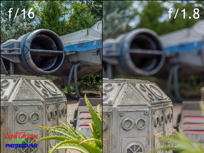 X-Wing Apertures at Galaxy's Edge