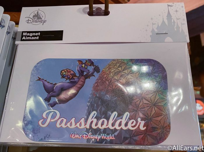Spaceship Earth Epcot Passholder Magnet or Decal
