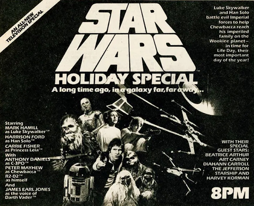 The History Behind the Infamous 'Star Wars Holiday Special' - AllEars.Net