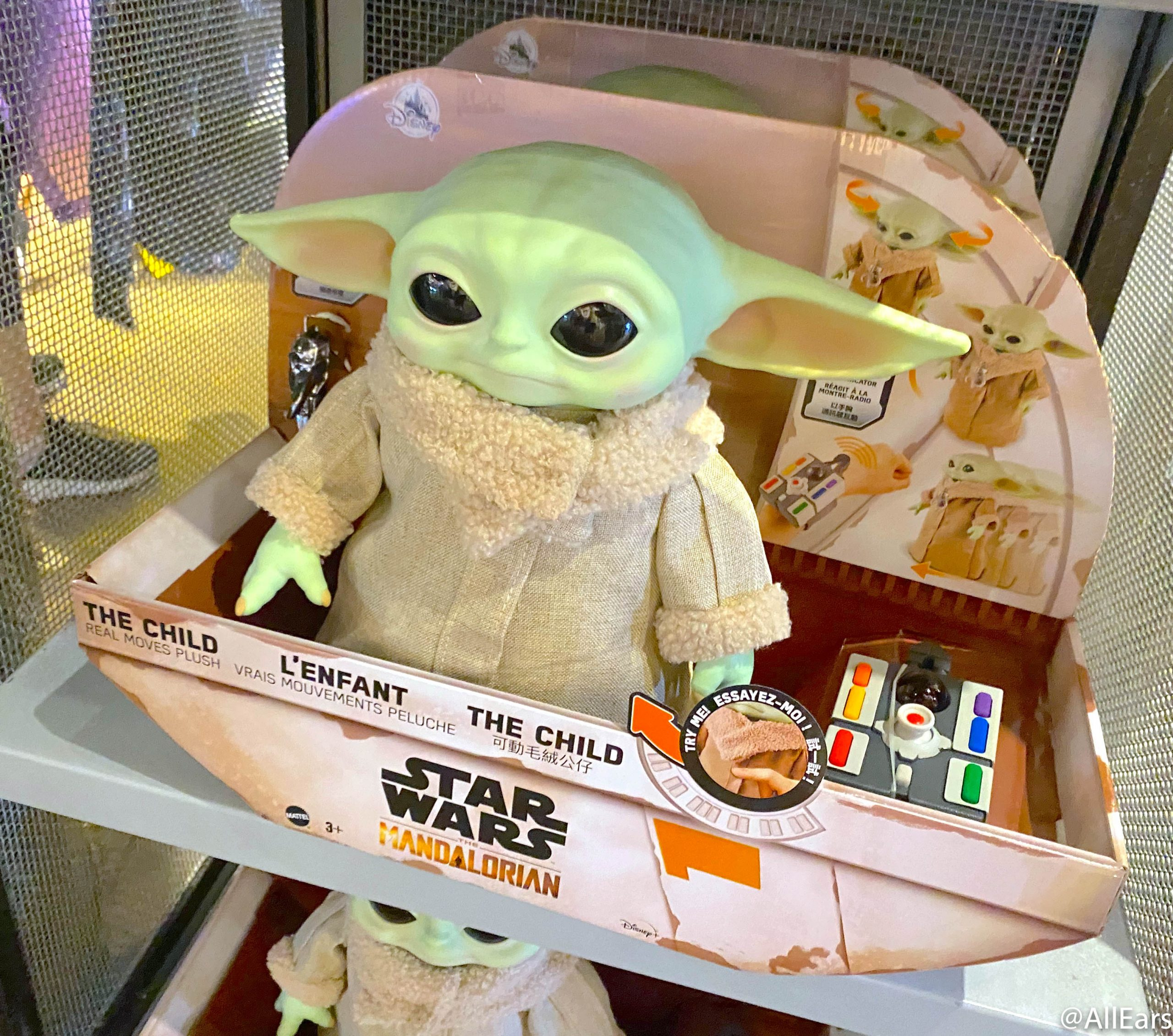 We Just Found The Biggest And Squishiest Baby Yoda Plush Ever Allears Net