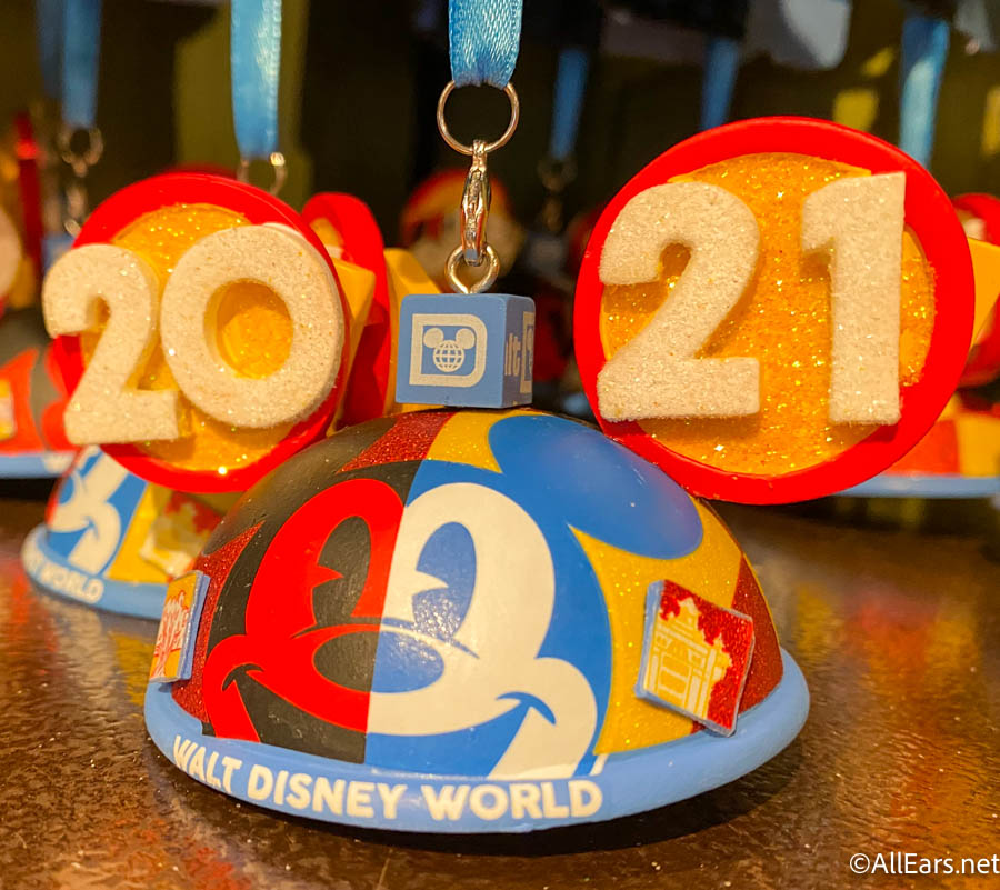 Disney 2021 Christmas Ornament Start Celebrating 2021 With These New Ornaments In Disney World Allears Net