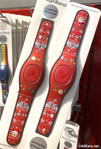 Christmas Magic Band 2020 Check Out All the New MagicBands We Spotted in Disney World