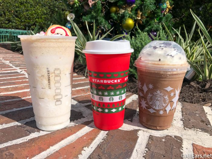 Starbucks Seasonal Drinks Calendar 2022.Photos Holiday Color Changing Cups Are Available At Starbucks Locations In Disney World Allears Net