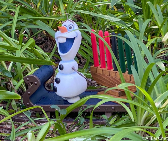 FROZEN Disney EPCOT Olaf Elsa Anna Festival Of Holidays Lenticular Plastic Cup