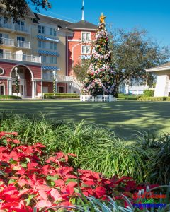 Boardwalk Resort Outdoor Christmas Tree