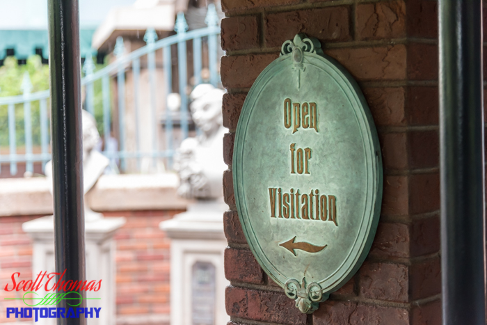 Haunted Mansion Open for Visitation