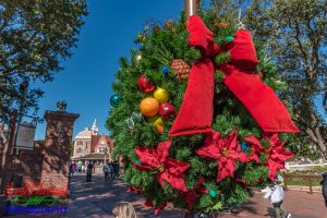 Liberty Square Christmas Wreath