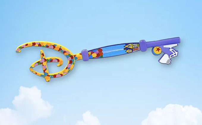 """Disney's NEW Collectible Key Will Feature Pixar's """"Up!"""" allears.net"""