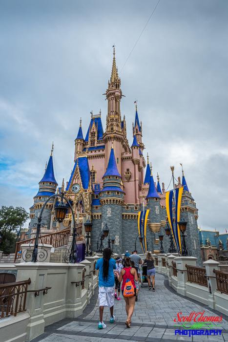 Cinderella Castle Guests