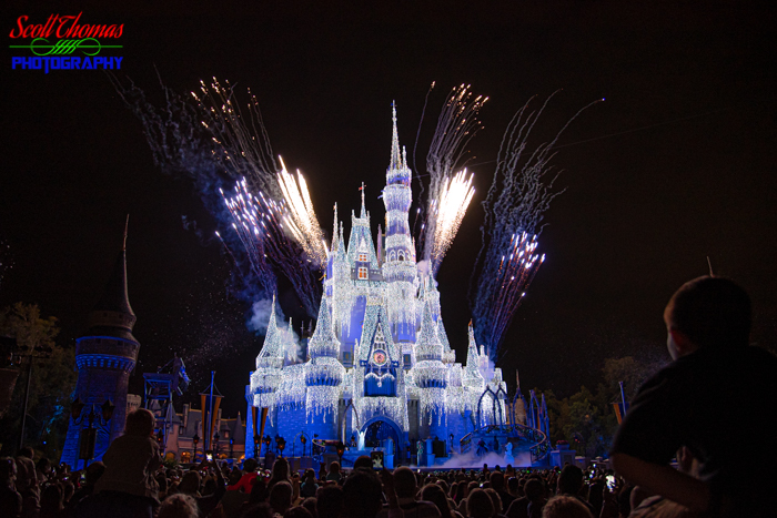 Castle Fireworks Christmas 2018