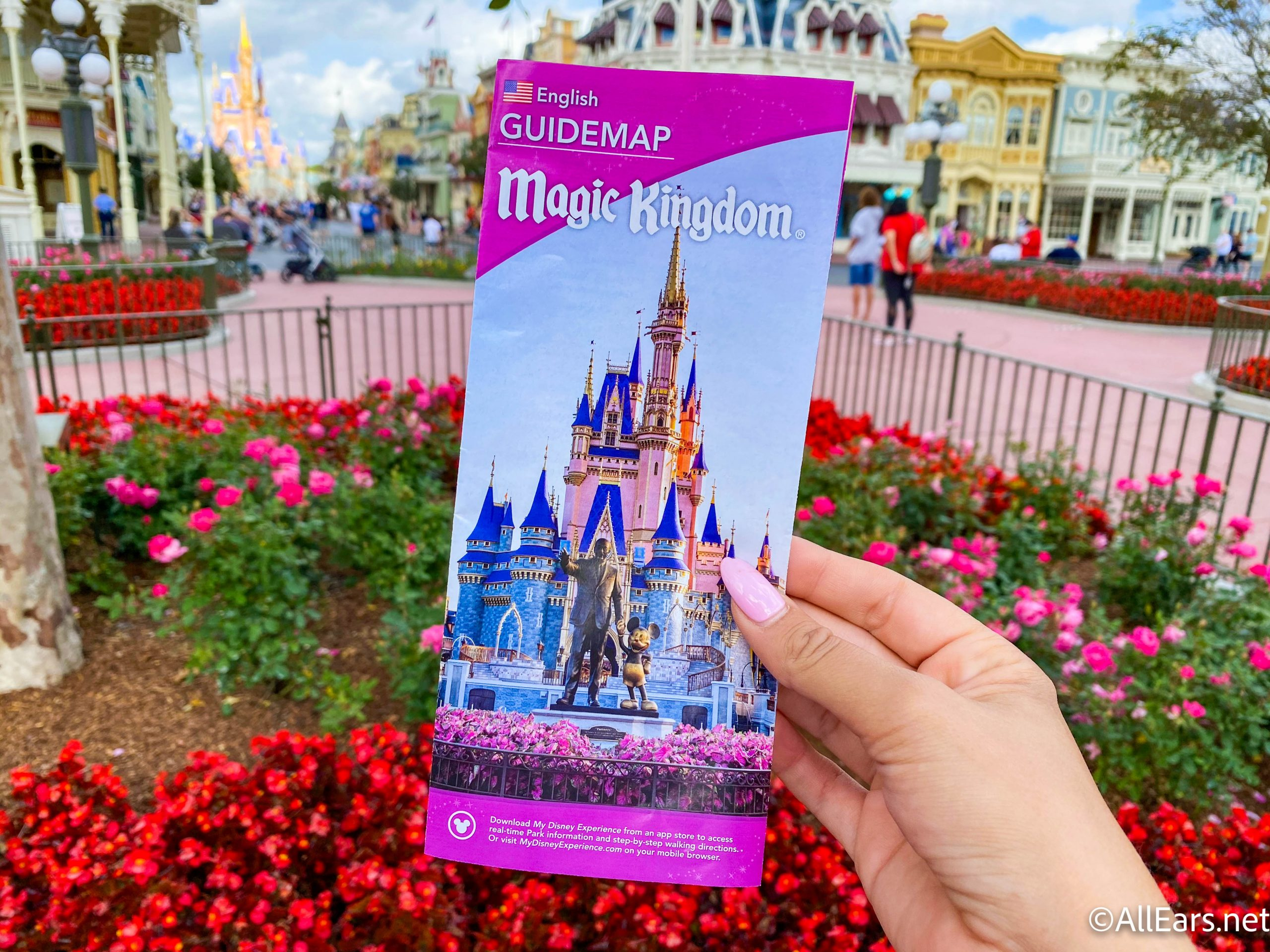 Magic Kingdom Gets a New Park Map With Some MAJOR Additions! - AllEars.Net