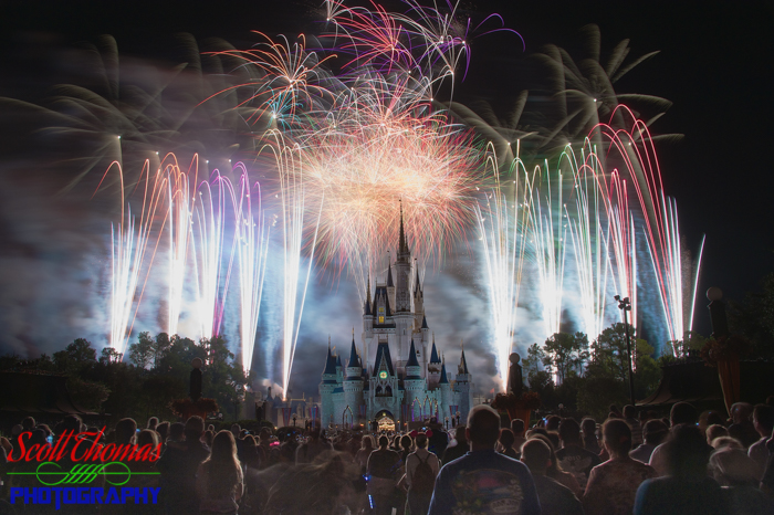 Magic Kingdom Fireworks Fav