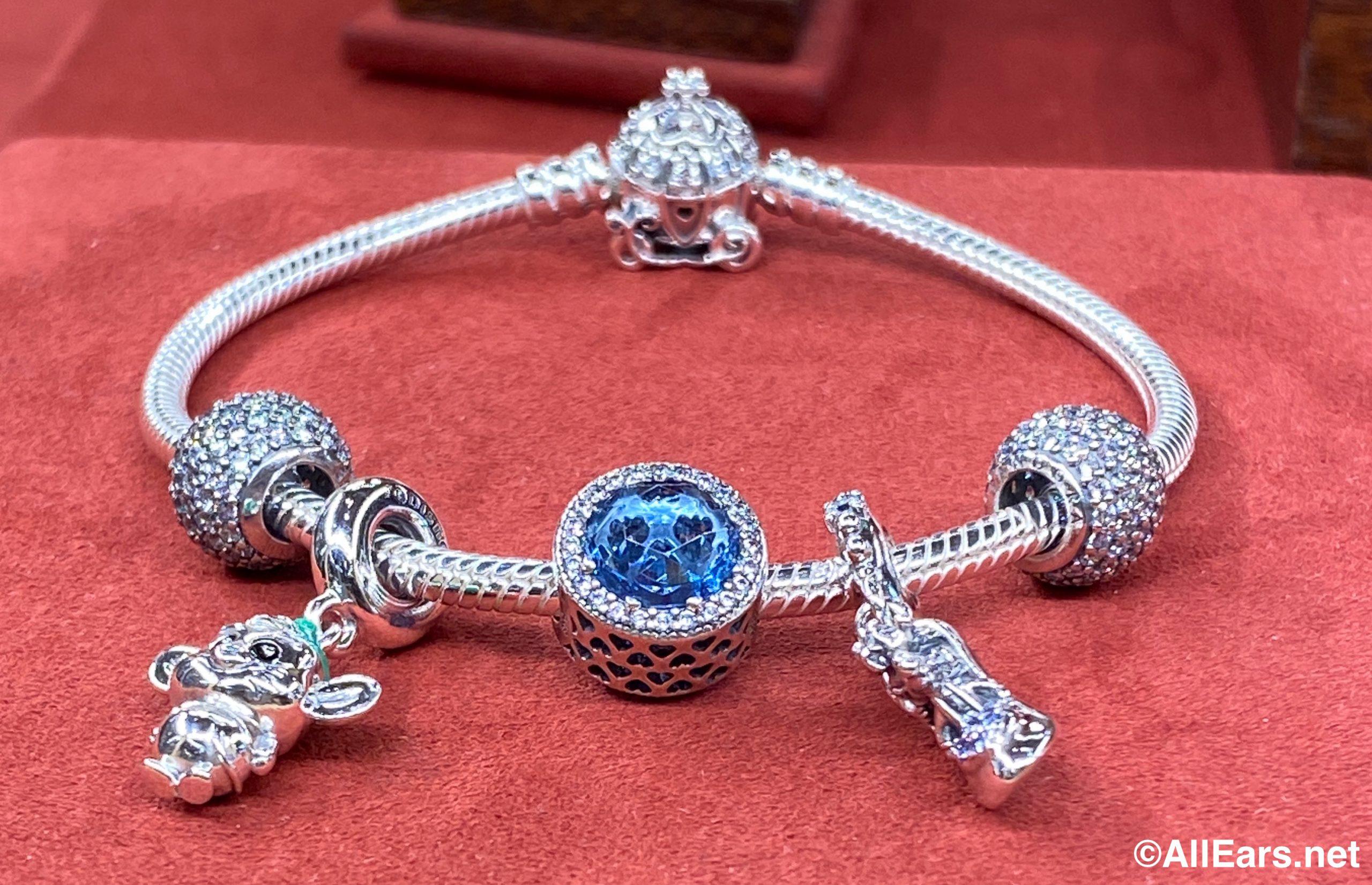 Wdw Magic Kingdom Uptown Jewelers Cinderella Pandora Charms Bracelet 1 Allears Net