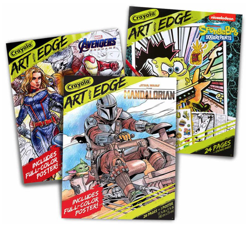 De-Stress With These Marvel and Star Wars Coloring Books Made for Adults! - AllEars.Net