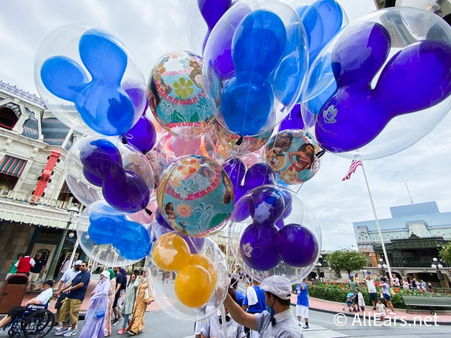 Disney World's Newest Balloon Features Characters from 'Moana!' - AllEars.Net