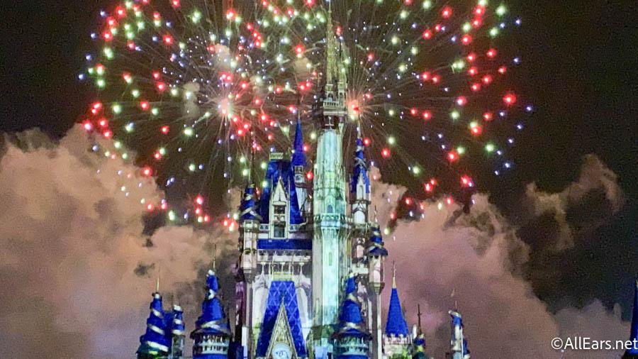 VIDEO: Disney World Tested New 50th Anniversary Fireworks Last Night! - AllEars.Net
