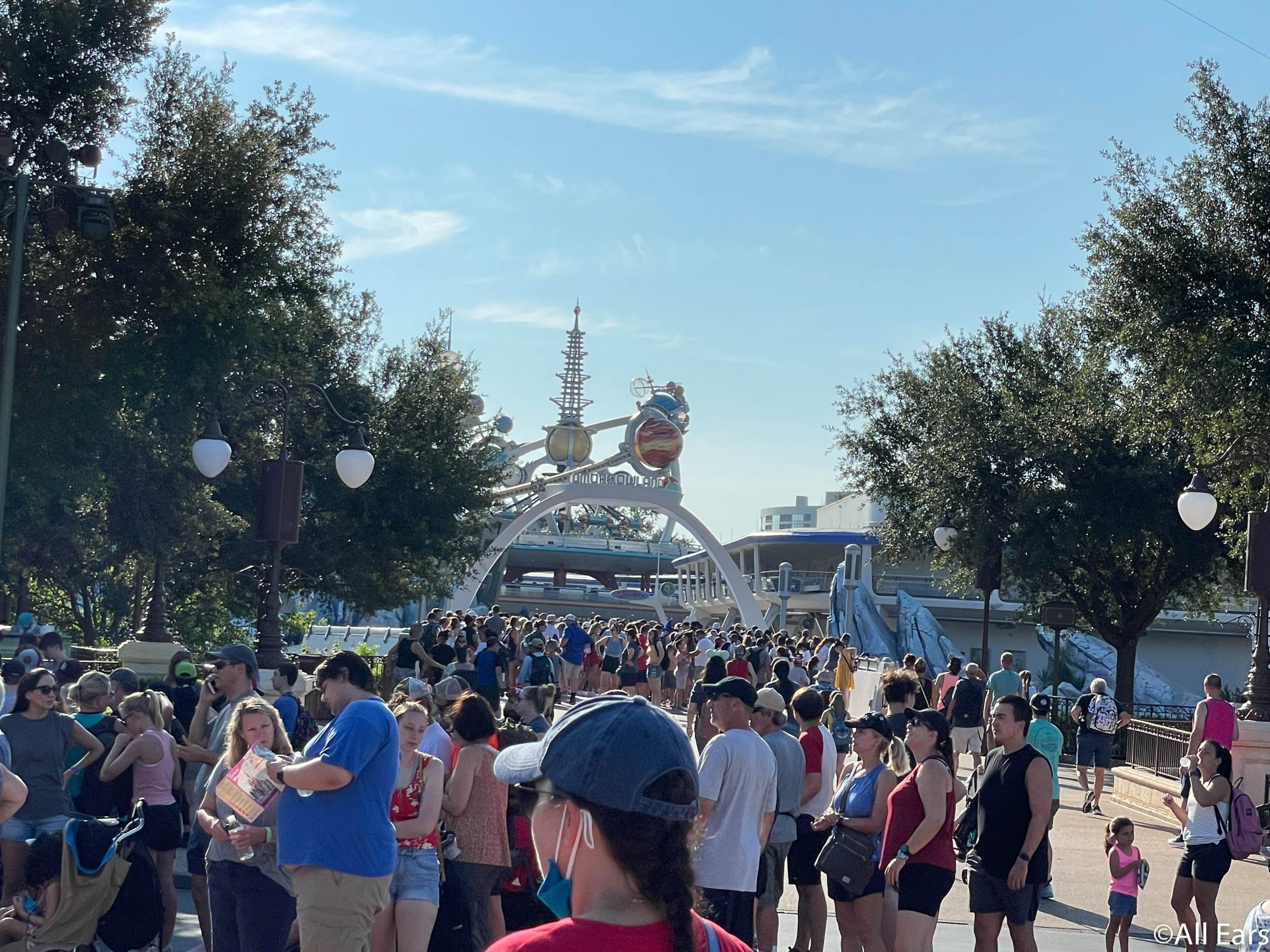 Rope Drop Was NOT What We Were Expecting in Magic Kingdom Today - AllEars.Net