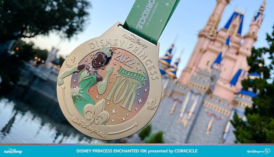 PHOTOS: Medals Revealed For runDisney's 2022 Princess Half Marathon Weekend