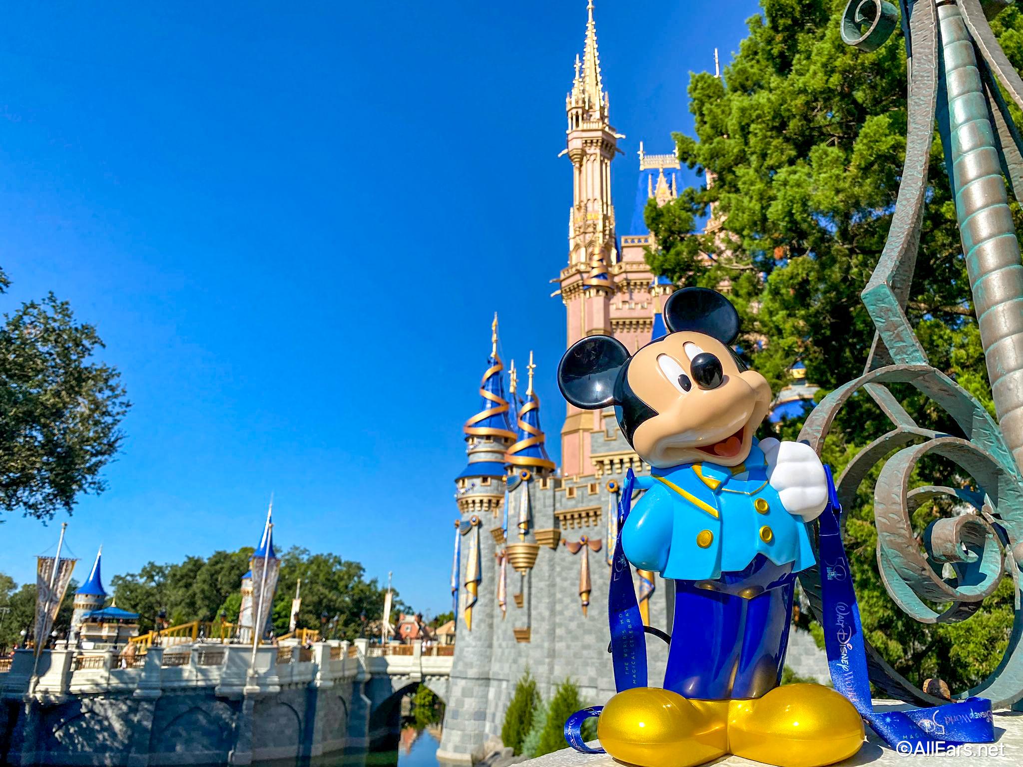 PHOTOS: Mickey Is SUPER Fancy Today in Disney World...As A Popcorn Bucket! - AllEars.Net