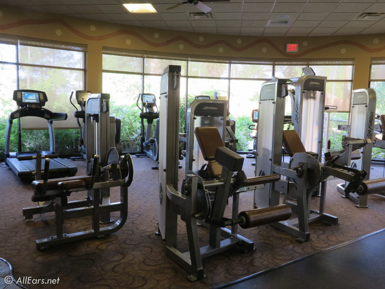 how to decorate your home gym 6 steps with pictures.htm disney vacation club villas at jambo house at animal kingdom lodge  disney vacation club villas at jambo