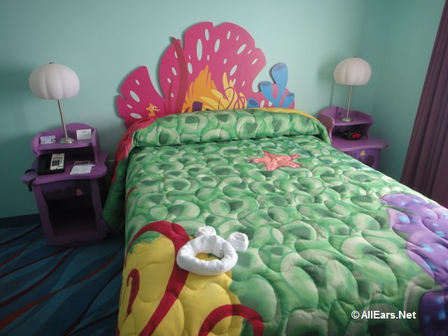 Art of Animation bedroom