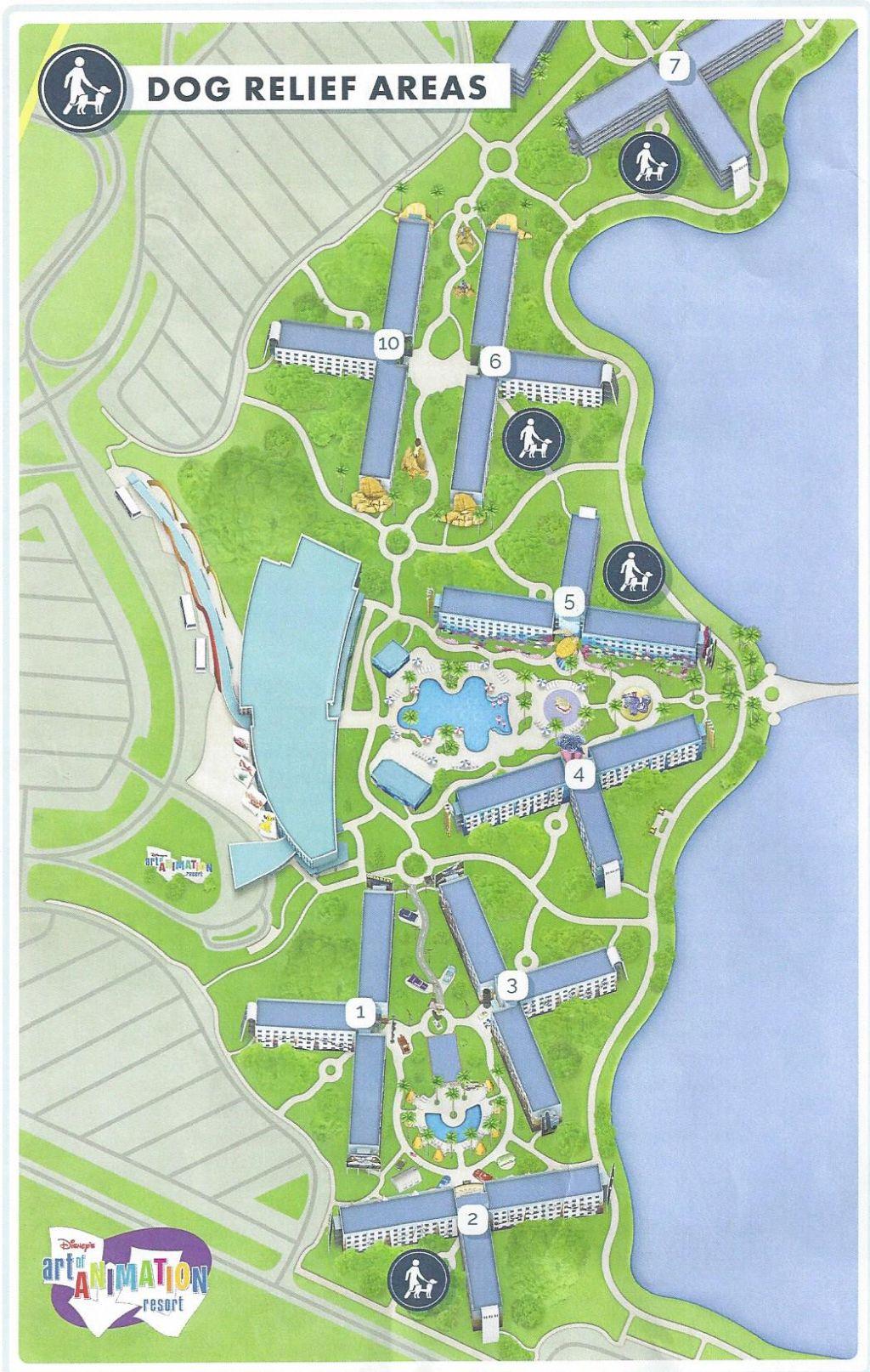 Walt Disney World Map With Hotels.Pet Friendly Hotels At Walt Disney World Resort Allears Net