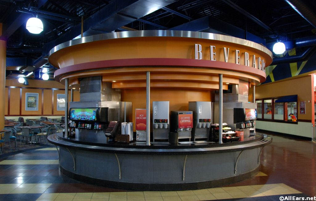 Interior Pictures Of World Premiere Food Court In Disney