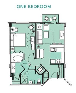 Sample Villa Layouts Not All Villas May Be In These Exact Studio One Bedroom Two What Are The Beach Club