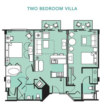 Beach club villas fact sheet two bedroom sciox Image collections