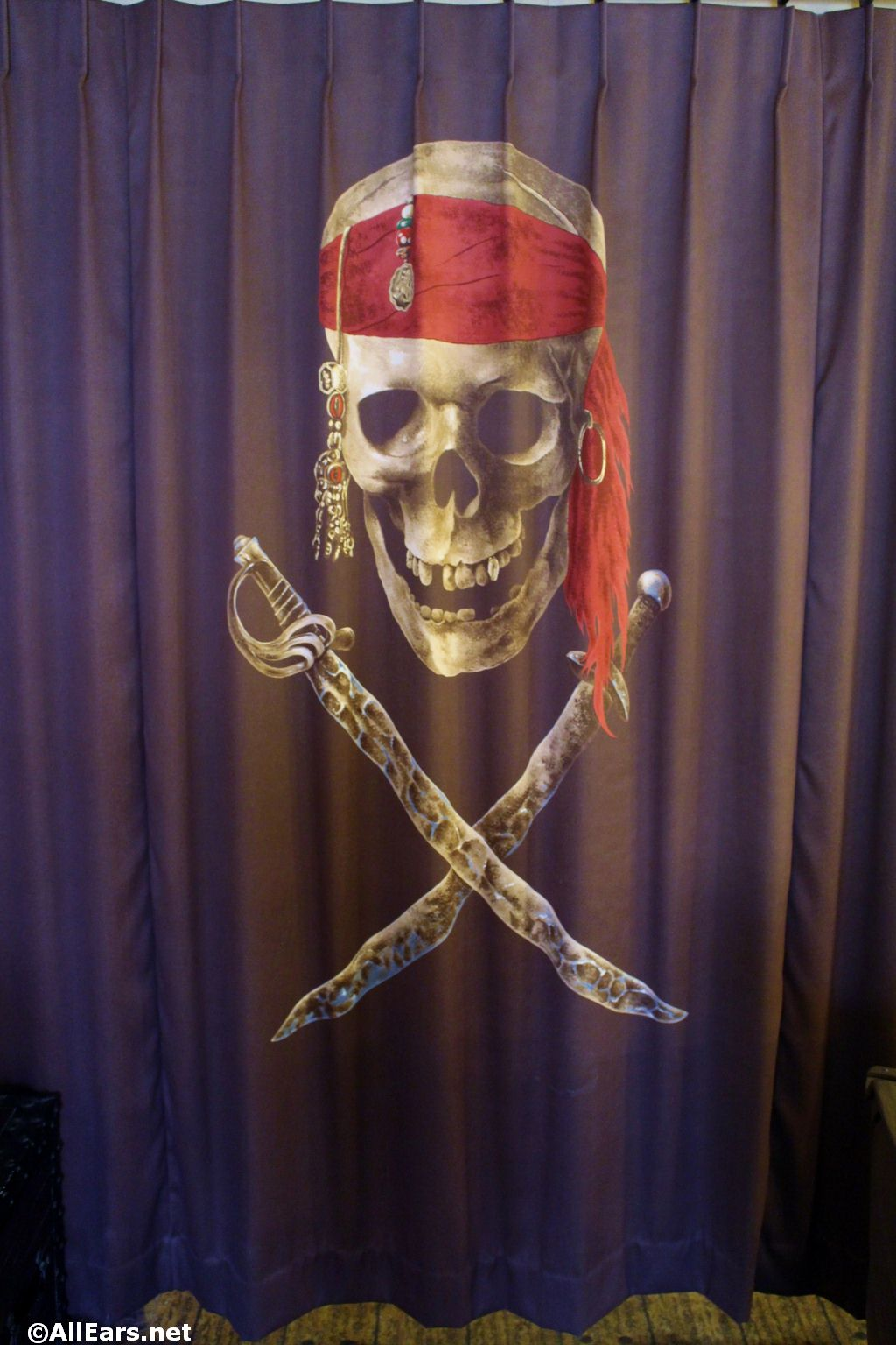 Caribbean Beach Pirate Room Photo Gallery
