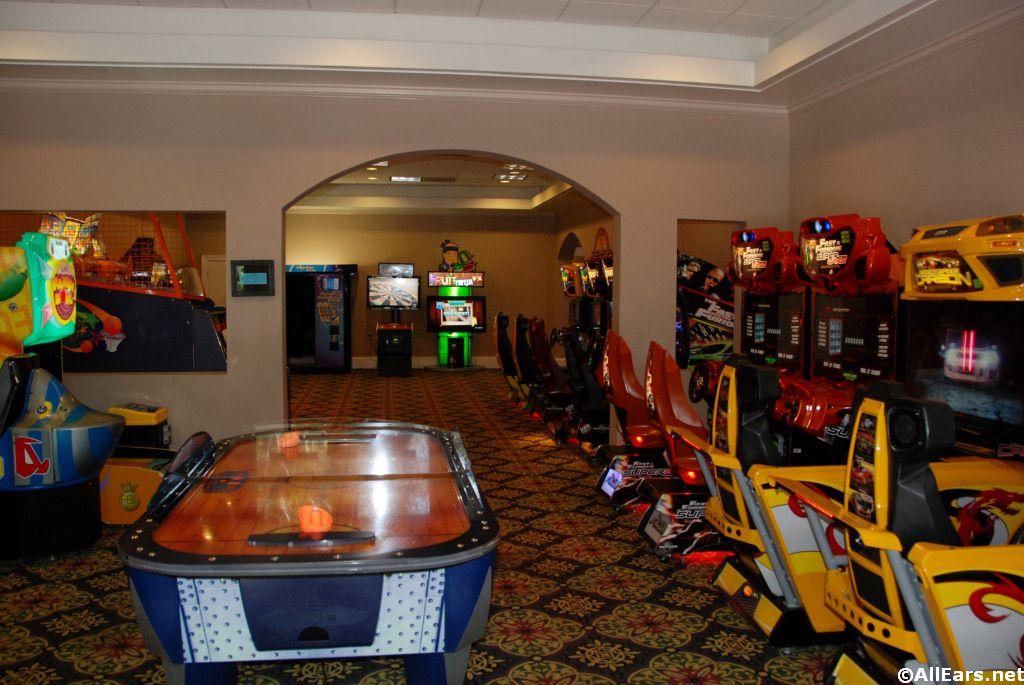 Port Orleans French Quarter Arcade