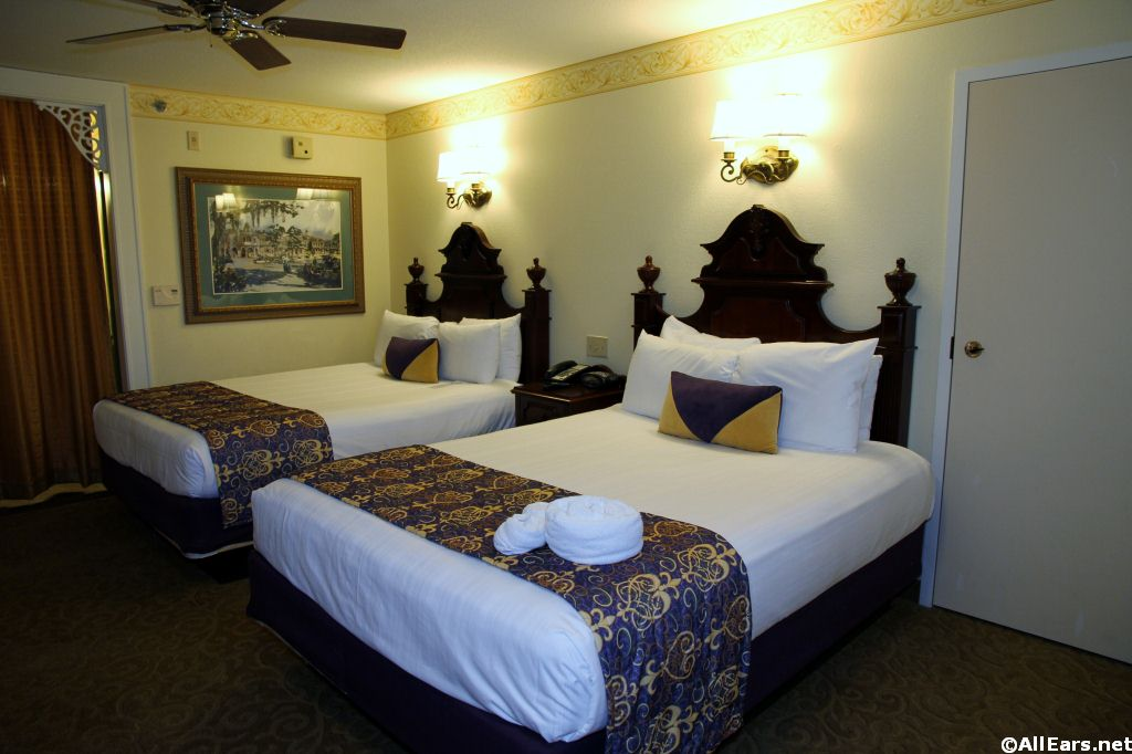 Port Orleans French Quarter Room Photos