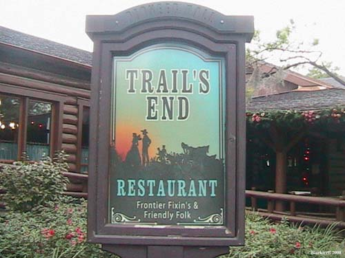AllEarsNet TV: Trail's End Restaurant