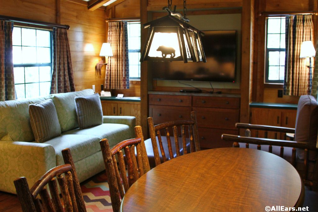 Newly Renovated Ft. Wilderness Cabin Photos
