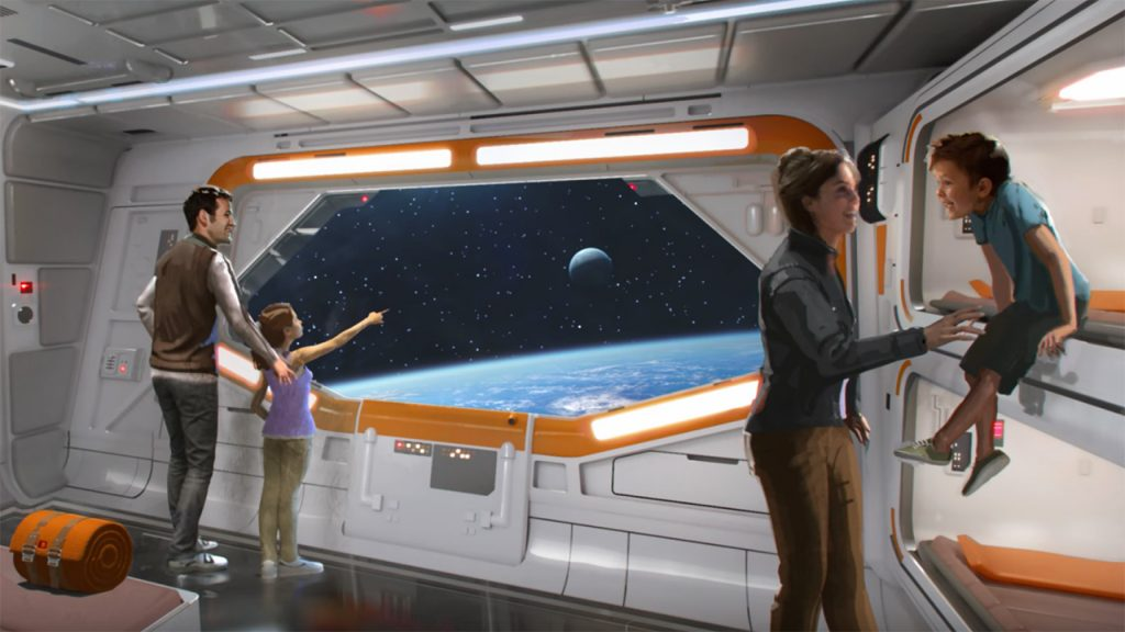 New Art Released for Star Wars-Themed Hotel