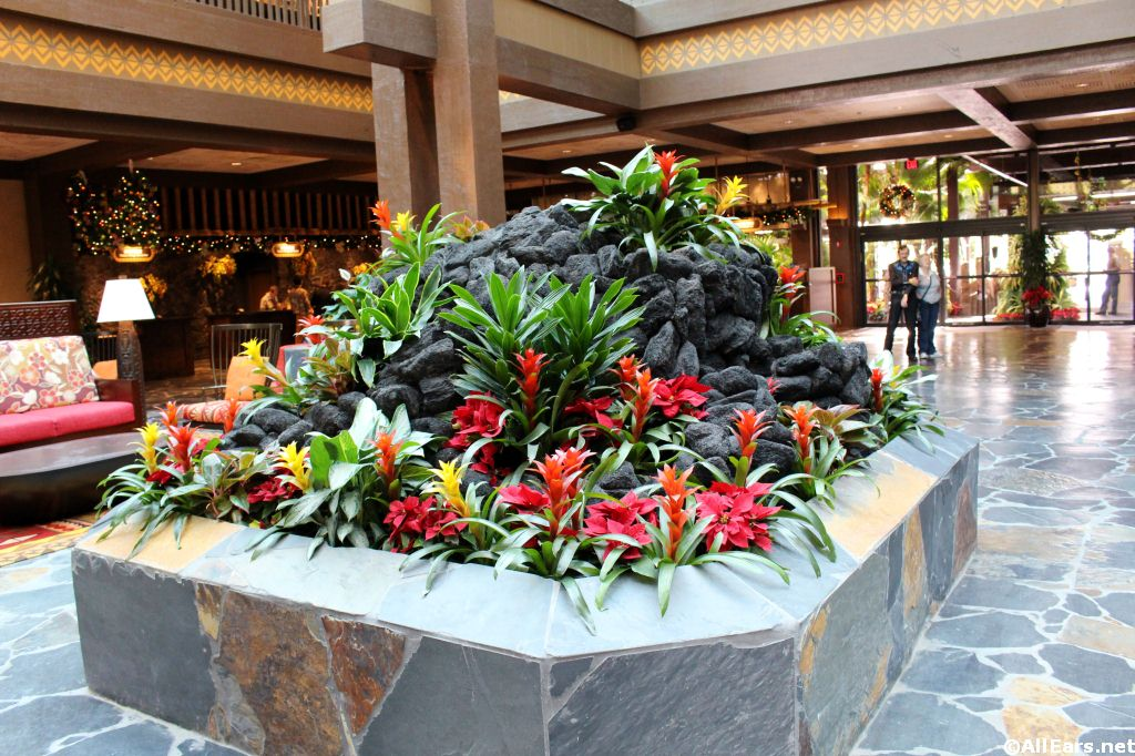 Polynesian Village New Lobby Photos