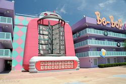 Pop Century Bowling Pool
