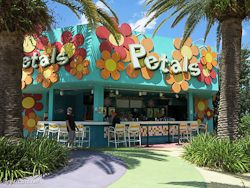 Pop Century Petals Pool Bar