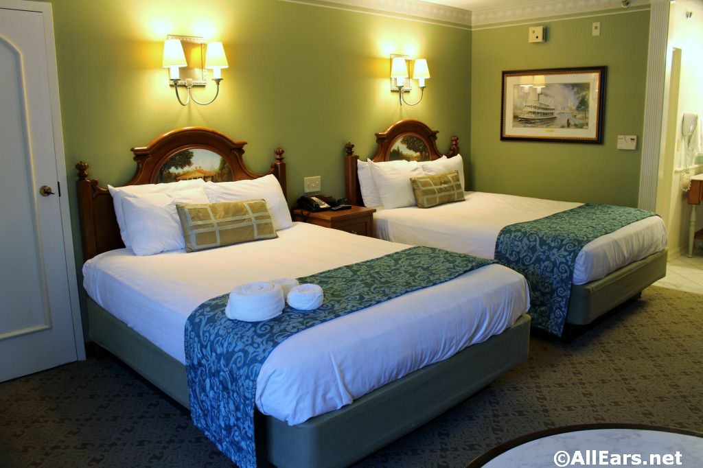 Port Orleans Riverside Room Photos