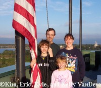 Kim, Eric, Kyle, and Kelly VanDevender