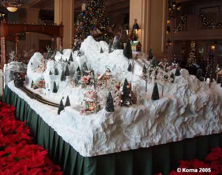 Yacht Club Christmas Railroad & Village